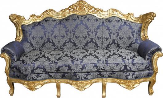 barock blau gold günstig & sicher kaufen bei yatego - Wohnzimmer Blau Gold