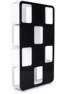207cm breite 120cm tiefe 30 cm modernes b cherregal vorschau 2. Black Bedroom Furniture Sets. Home Design Ideas