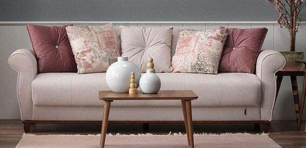 Casa Padrino Designer 3er Sofa Frankfurt Hellgrau - Hotel Möbel