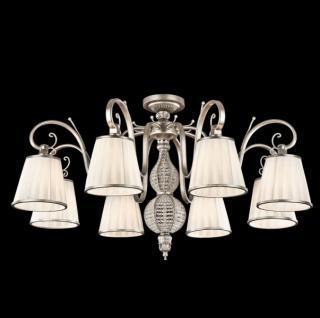 Casa Padrino Barock Kristall Decken Kronleuchter Antique Gold 82 x H 49 cm Antik Stil - Möbel Lüster Leuchter Hängeleuchte Hängelampe