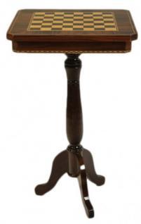 Casa Padrino Barock Spieltisch Schach / Dame Tisch Mahagoni - Möbel Antik Stil Art Deco Jugendstil Schachtisch