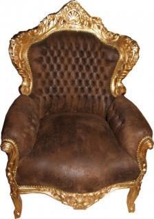 barock sessel gold g nstig online kaufen bei yatego. Black Bedroom Furniture Sets. Home Design Ideas