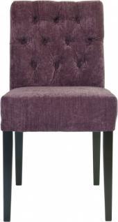 Casa padrino designer esszimmer stuhl sessel modef 313 for Sessel lila samt