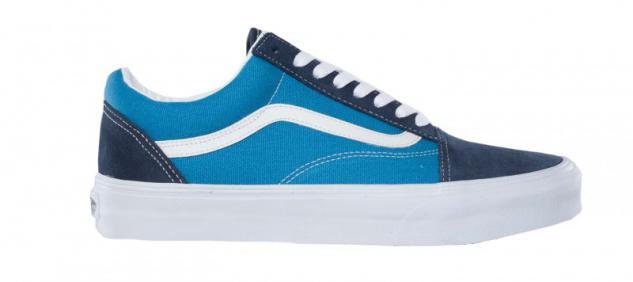 Vans Skateboard Schuhe Old Skool Navy/Sky Blue