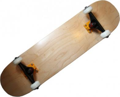 Skateboard Komplettboard Wood Design mit Venture Achsen + High End Profi Wheels Abec 7 Kugellager - Complete Skateboard