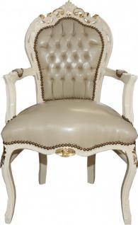 Casa padrino barock esszimmer stuhl schwarz gold m bel for Barock esszimmer