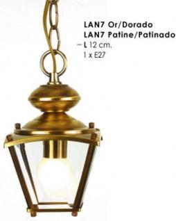 Wunderschöne Pendelleuchte im nostalgischen Stil / Antik, Breite 12 cm, Leuchte Lampe