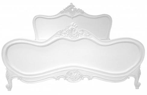 barock bett maison paris wei 180 x 200 cm aus der luxus. Black Bedroom Furniture Sets. Home Design Ideas