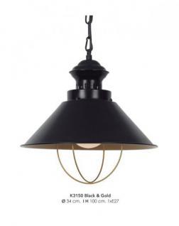 design deckenleuchte schwarz g nstig online kaufen yatego. Black Bedroom Furniture Sets. Home Design Ideas