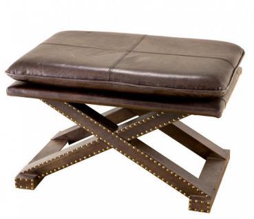 hocker leder braun g nstig online kaufen bei yatego. Black Bedroom Furniture Sets. Home Design Ideas