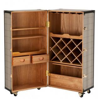 casa padrino luxus bar schrank im vintage koffer design. Black Bedroom Furniture Sets. Home Design Ideas