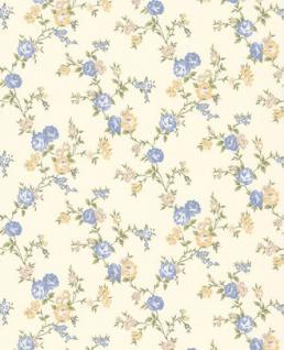 Graham & Brown Barock Landhaus Stil Tapete Rose Cottage Vliestapete Vlies Tapete Mod 50-448 Rosen Blumenmuster Blumentapete Rosentapete
