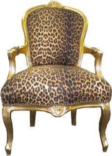 barock stuhl leopard online bestellen bei yatego. Black Bedroom Furniture Sets. Home Design Ideas