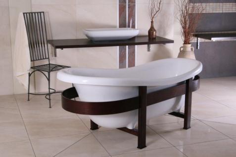 freistehende luxus badewanne jugendstil toscane 1675mm. Black Bedroom Furniture Sets. Home Design Ideas