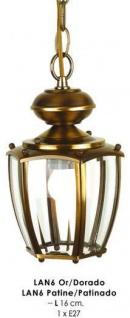 Wunderschöne Pendelleuchte im nostalgischen Stil / Antik, Breite 16 cm, Leuchte Lampe