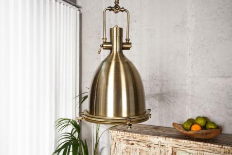 Casa Padrino Industrial Hängeleuchte Bronze 35 x 50 x 35 cm - Industrie Design Vintage Lampe Leuchte