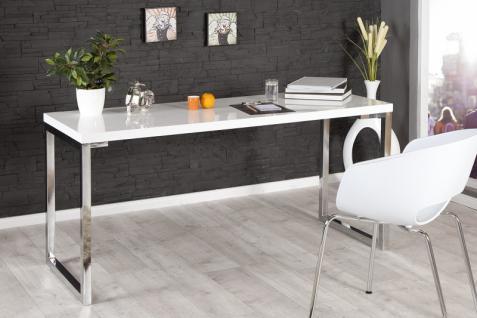 Eckschreibtisch weiß hochglanz  Design Schreibtisch Weiß Hochglanz online kaufen - Yatego