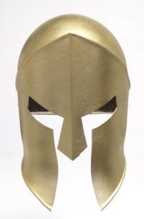 Ritter Corinthian Helm - Metall Helm Schutzhelm Ritterhelm Ritterausrüstung Larp Rollenspieler Korinther Altertum Mittelalter