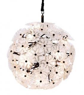Casa Padrino Luxus Leuchte - Luxus Antik Messing Hängeleuchte Durchmesser 100 x H 100 cm