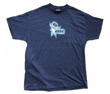 Este Skateboard Classic T-Shirt Blue 1 B Ware
