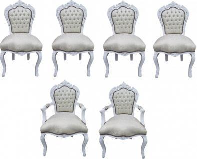 barock st hle set g nstig online kaufen bei yatego. Black Bedroom Furniture Sets. Home Design Ideas