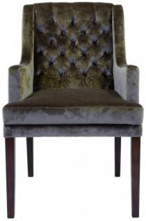 Casa padrino designer chesterfield esszimmer stuhl modef for Esszimmer chesterfield