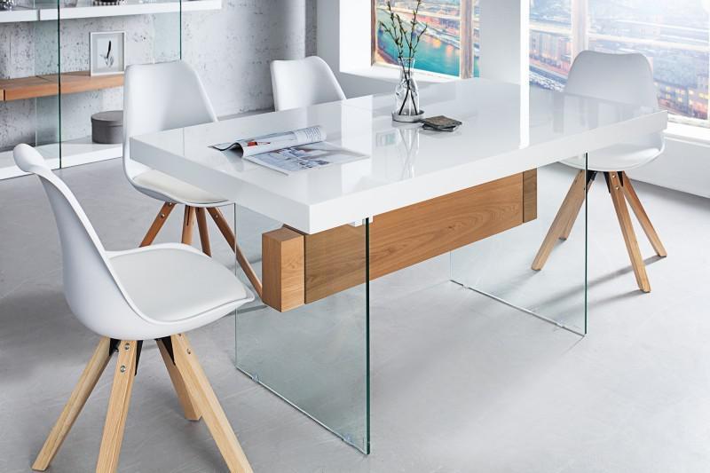 esstisch glas ausziehbar design affordable ausziehbar. Black Bedroom Furniture Sets. Home Design Ideas