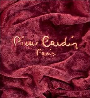 Pierre Cardin Designer Luxus Decke Samtweich 130 x 170 cm Schlafzimmer Wohnzimmer Decke Kuscheldecke Burgundy RO545