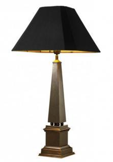 Casa Padrino Luxus Tischleuchte Bronze Durchmesser 15 x 40 x H 83, 5 cm - Luxus Hotel Restaurant Leuchte