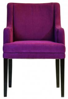Casa padrino designer esszimmer stuhl modef 285 burgundy for Stuhl schwarz esszimmer