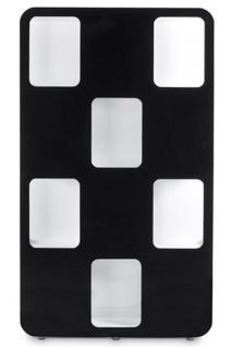 207cm breite 120cm tiefe 30 cm modernes b cherregal vorschau 3. Black Bedroom Furniture Sets. Home Design Ideas