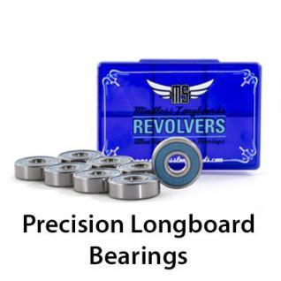 Mindless Longboard / Skateboard Kugellager Revolver Bearings (8 Kugellager)