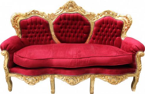 couch sofa rot g nstig sicher kaufen bei yatego. Black Bedroom Furniture Sets. Home Design Ideas