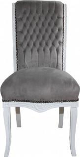 Stuhl Grau Weiß | Möbelideen Esszimmer Set Grau Weiss