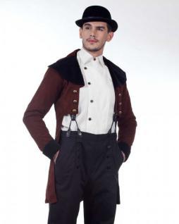 Steampunk Frack - Tailcoat Mantel - Larp Bekleidung 19. Jahrhundert