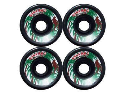 Big Foot Longboard Wheels Schwarz 70mm/78a Rollen Wheel Set