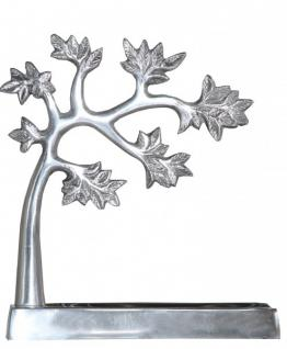 Casa Padrino Designer Schmuckbaum Aluminium Mod5 Alu Dekoration Schmuckständer- Schmuckhalter