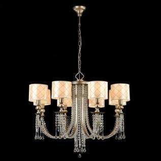 Casa Padrino Barock Decken Kristall Kronleuchter Antik Gold 82 x H 60 cm Antik Stil - Möbel Lüster Leuchter Hängeleuchte Hängelampe