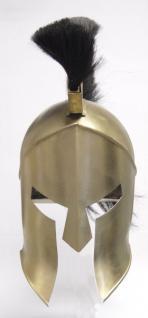 Ritter Corinthian Helm Mod2 - Metall Helm Schutzhelm Ritterhelm Ritterausrüstung Larp Rollenspieler Korinther Altertum Mittelalter