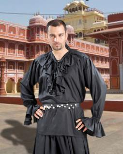Noble's Piraten Shirt - Black