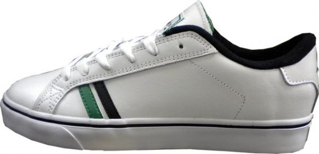 Emerica Skateboard Shoes Leo SMU White/Black/Green