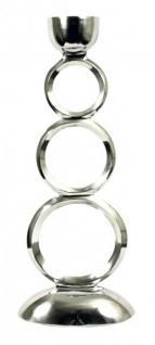 71 cm Designer Kerzenhalter, Kerzenleuchter aus poliertem Aluminium, Shine