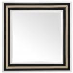 Casa Padrino Luxus Spiegel 100 x H. 100 cm - Designer Wandspiegel