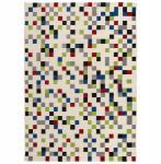 Casa Padrino Designer Teppich 160 x 230 cm Bunte Pixel - Läufer