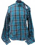 Fenchurch Jacke Check Back Jacket Blue