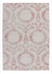 Casa Padrino Design Teppich Alt Rosa - Designer Teppich