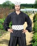 Early Renaissance Piraten Shirt - Black