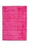 Casa Padrino Designer Teppich Vintage Look Viscose Pink - Handgefertigt - Möbel Teppich