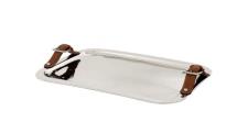 Casa Padrino Luxus Designer Tablett 46 x 33, 5 x H. 7 cm - Luxus Qualität