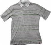 ES Polo Skateboard T-Shirt White/Green/Caro